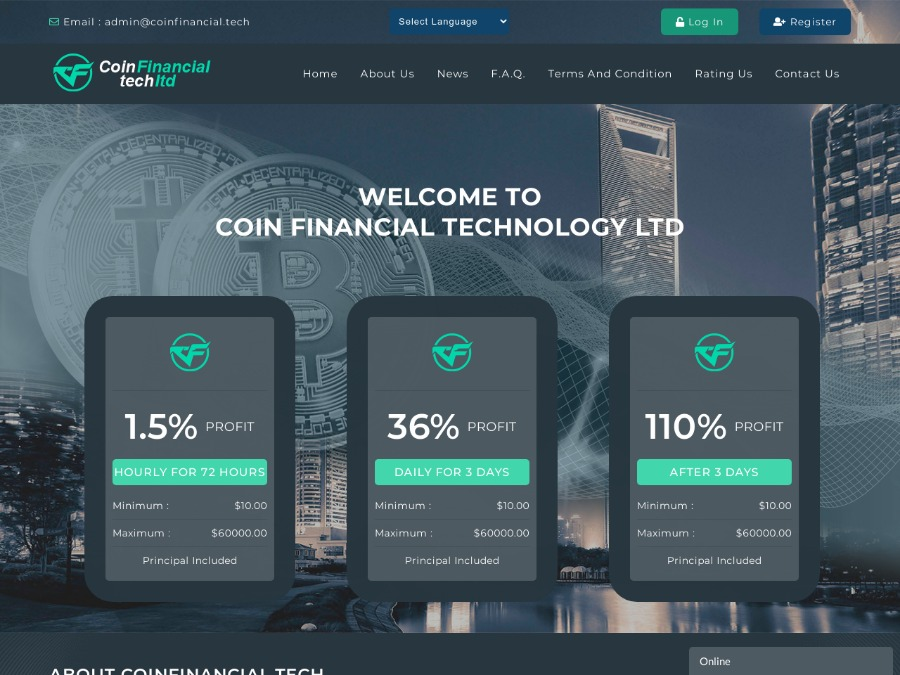 COIN FINANCIAL TECHNOLOGY